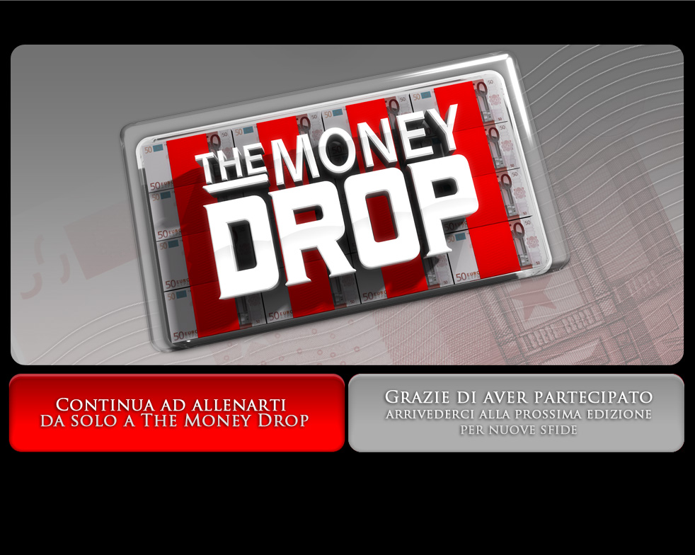 The Money Drop - Gioca al quiz di Gerry Scotti